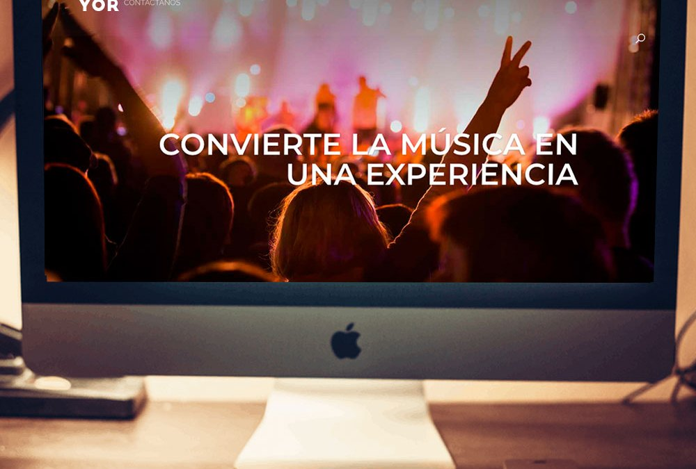 Web Escuela de música Do Mayor con Ecommerce