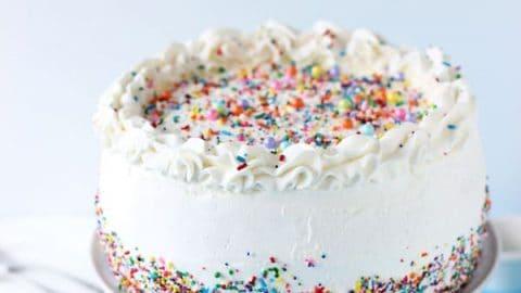 Classic Birthday Ice Cream Cake