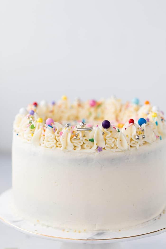 Chocolate Cake With Vanilla Buttercream A Classic Twist