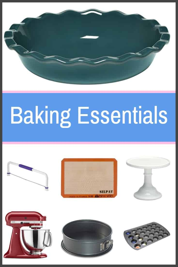 A Complete List Of The Best Baking Essentials And Tools