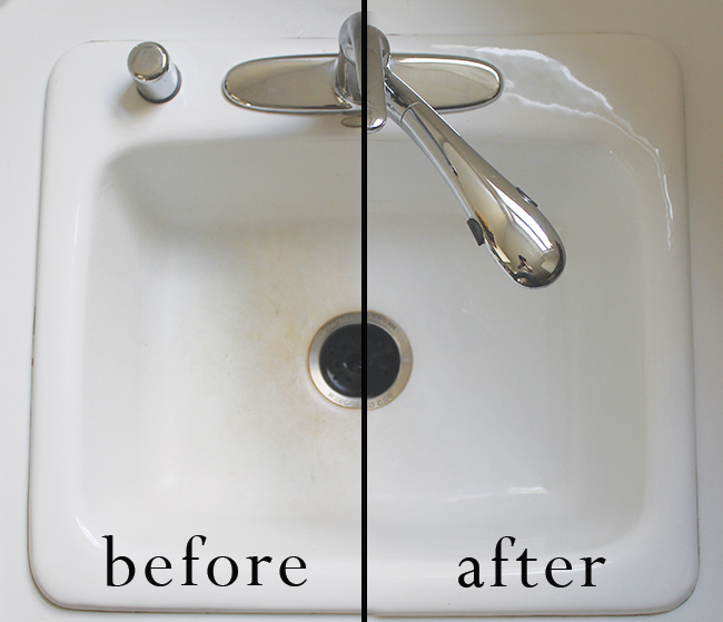 How to clean a kitchen sink in 3 minutes