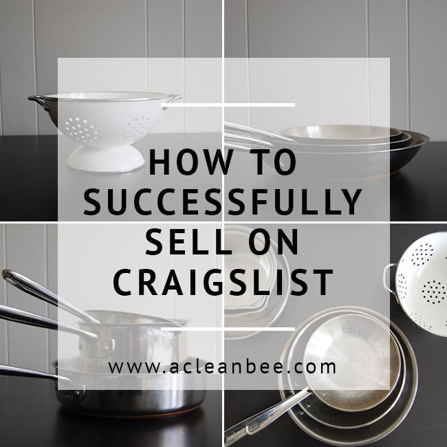 Make money selling on Craigslist