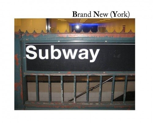 NYC Subway Sign for Brand New (York)