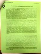 A flyer regarding the new teaching positions.