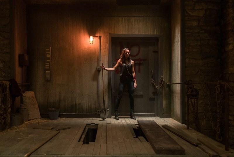 """Laura Vandervoort as """"Laura"""" in JIGSAW."""