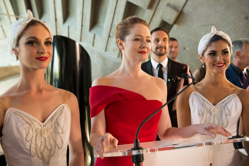 Madeline Moncur (Miranda Otto in Red) in 'Dance Academy; The Movie' - DOP Martin McGrath ACS, PHOTO Simon Cardwell