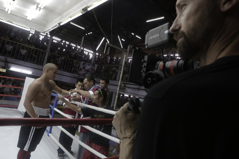 Preparing for a fight scene in 'Beast' - PHOTO Jewels Sison