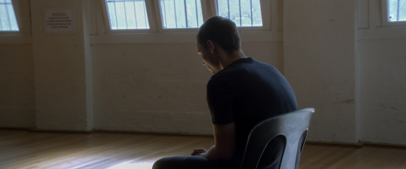 James (Reef Ireland) in detention in 'Downriver' - DOP László Baranyai ACS HSC