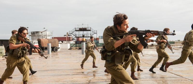 1. A scene from the film 'Entebbe' - DOP Lula Carvalho ABC ACS