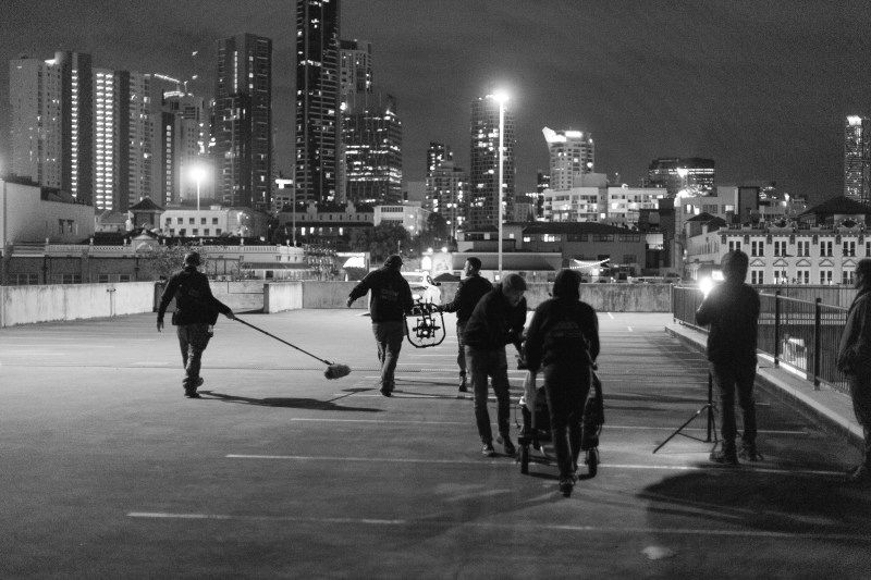 Behind the scenes on the Orange Sky campaign - PHOTO Benjamin Knight