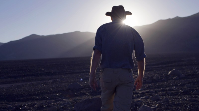 Steve Squyres, Professor of Physical Sciences at NASA, at Chile's Atacama Desert in 'Living Universe' - DOP Frank Flick ACS