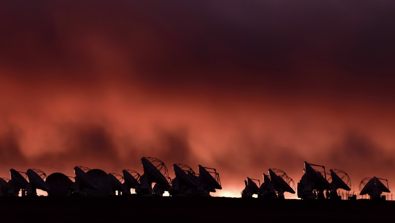 The Atacama Large Millimeter Array (ALMA) in Chile, a scene from 'Living Universe' - DOP Frank Flick ACS