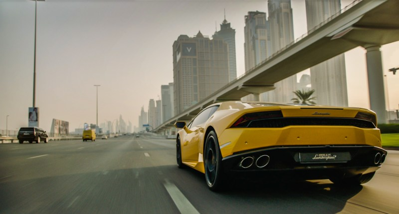 A scene from 'Where is my Lamborghini', filmed in Dubai - DOP Mark Hobz