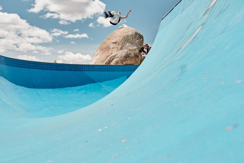 2. Dom West shooting 'Blue' - PHOTO Adam Kola