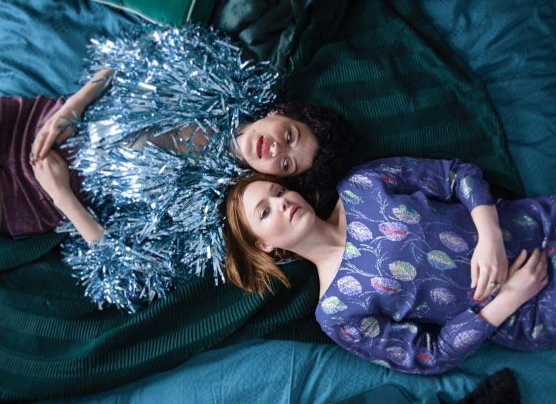 Tyler (Alia Shawkat) and Laura (Holliday Grainger) in 'Animals' - DOP Bryan Mason