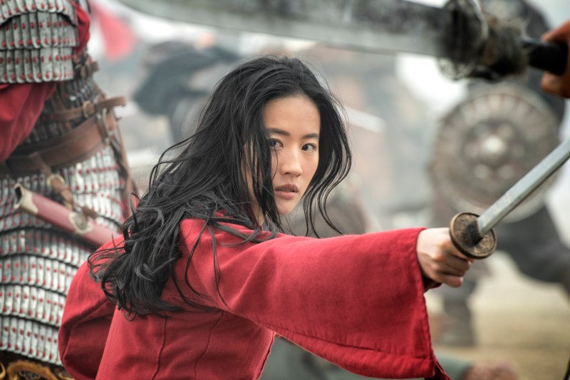 Liu Yifei is Mulan, in 'Mulan' - DOP Mandy Walker ACS ASC