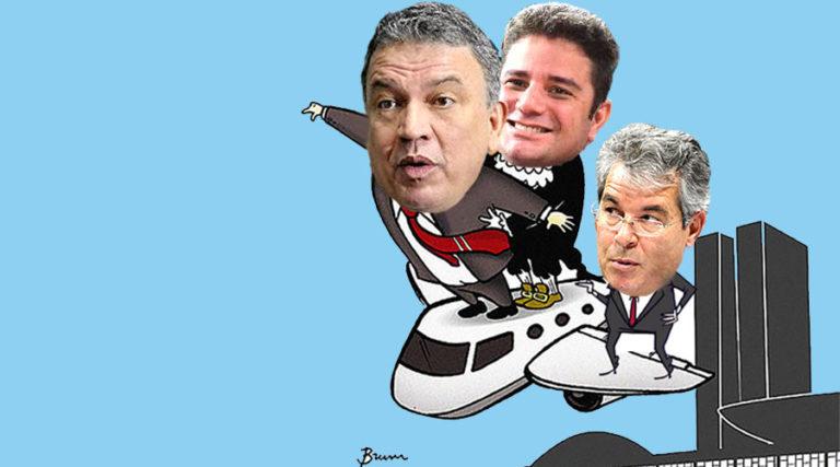 Jorge, Gladson e Petecão são citados em reportagem sobre crescimento de 40% em verba gasta com jatinhos