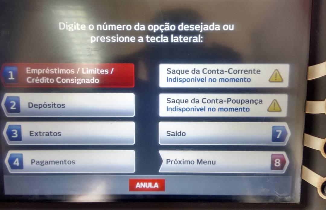 Tarauacá: Clientes reclamam da falta de dinheiro nos caixas eletrônicos do Bradesco