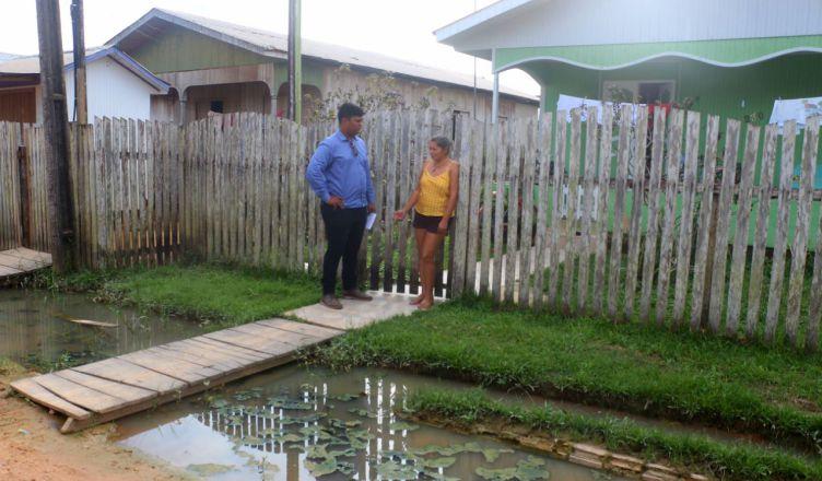 TARAUACÁ: Vereador dólar denuncia abandono e descaso nas ruas do município