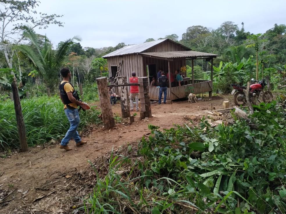 Homem é morto com tiro de espingarda na zona rural de Sena Madureira