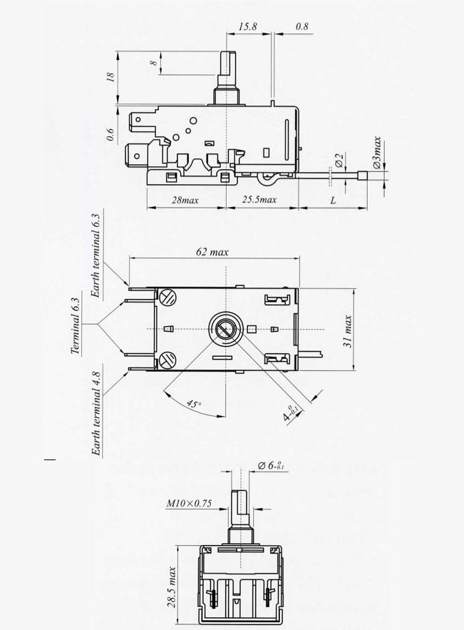 EKP Series (Temperature Control W/Coil Sensor)
