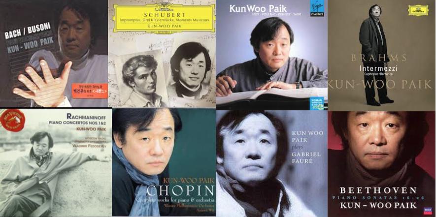 Kun-Woo PAik_Grabaciones_Discos_Sellos