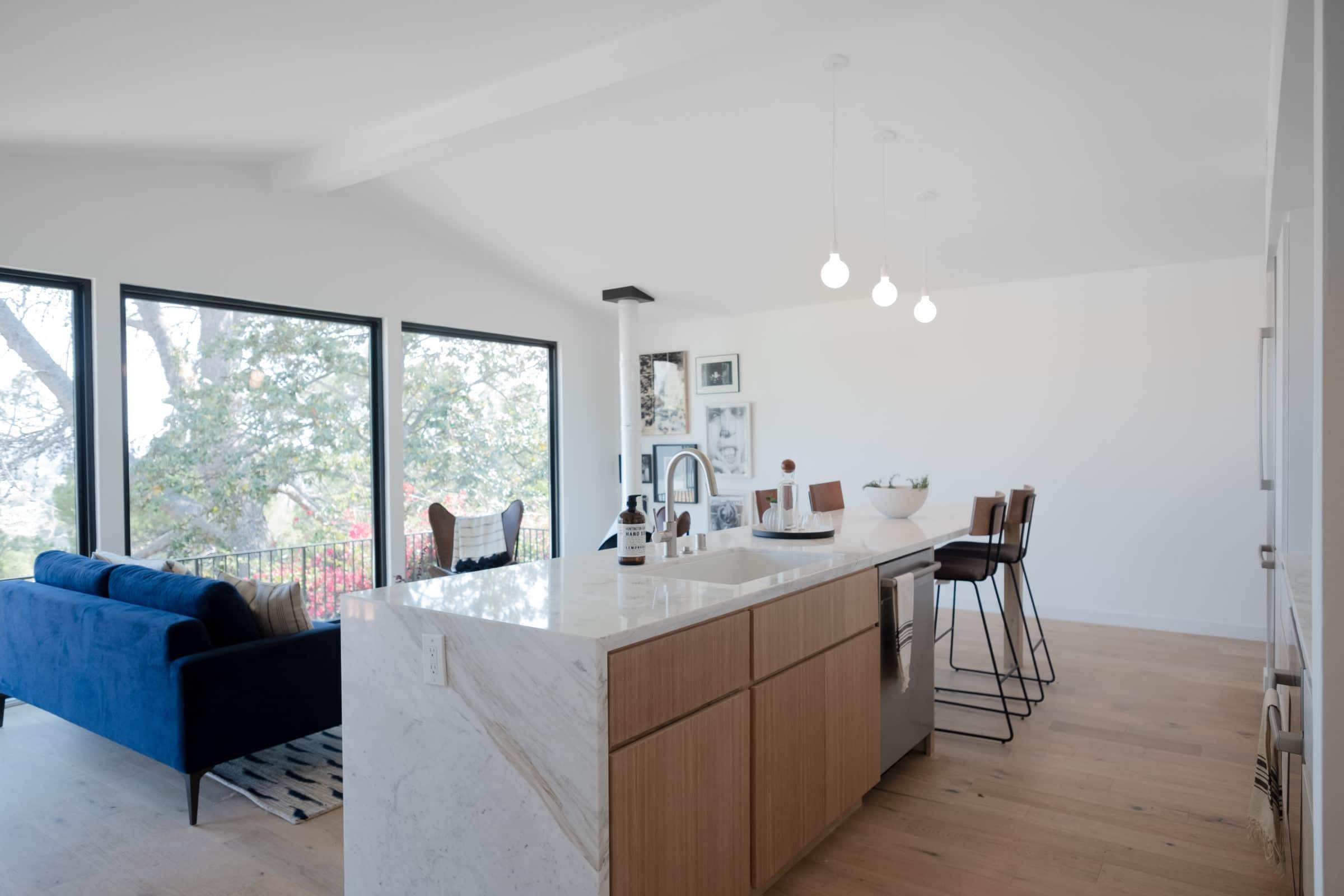 Architectural 3bd 3ba Mid Century Modern By Vein Design In North Highland Park Hills