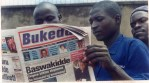 This was Bukedde's first color redesign. 25.11.99