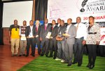Daily Monitor journalists at the Uganda National Journalism Awards