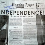 New Vision reprint of Uganda Argus Independence Day copy gives readers rare glimpse into the past