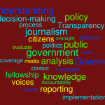 Journalism fellowship on public policy reporting