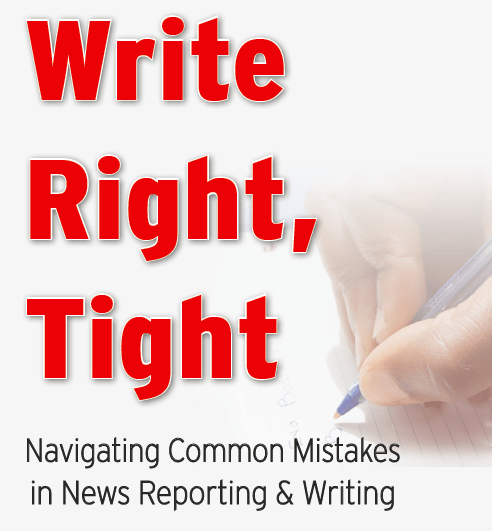 Write Right, Tight book cover