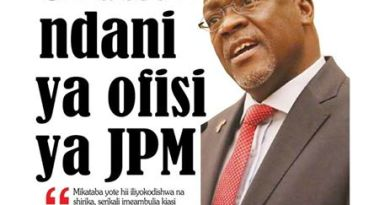 Tanzania: Government bans weekly newspaper 'inciteful' articles