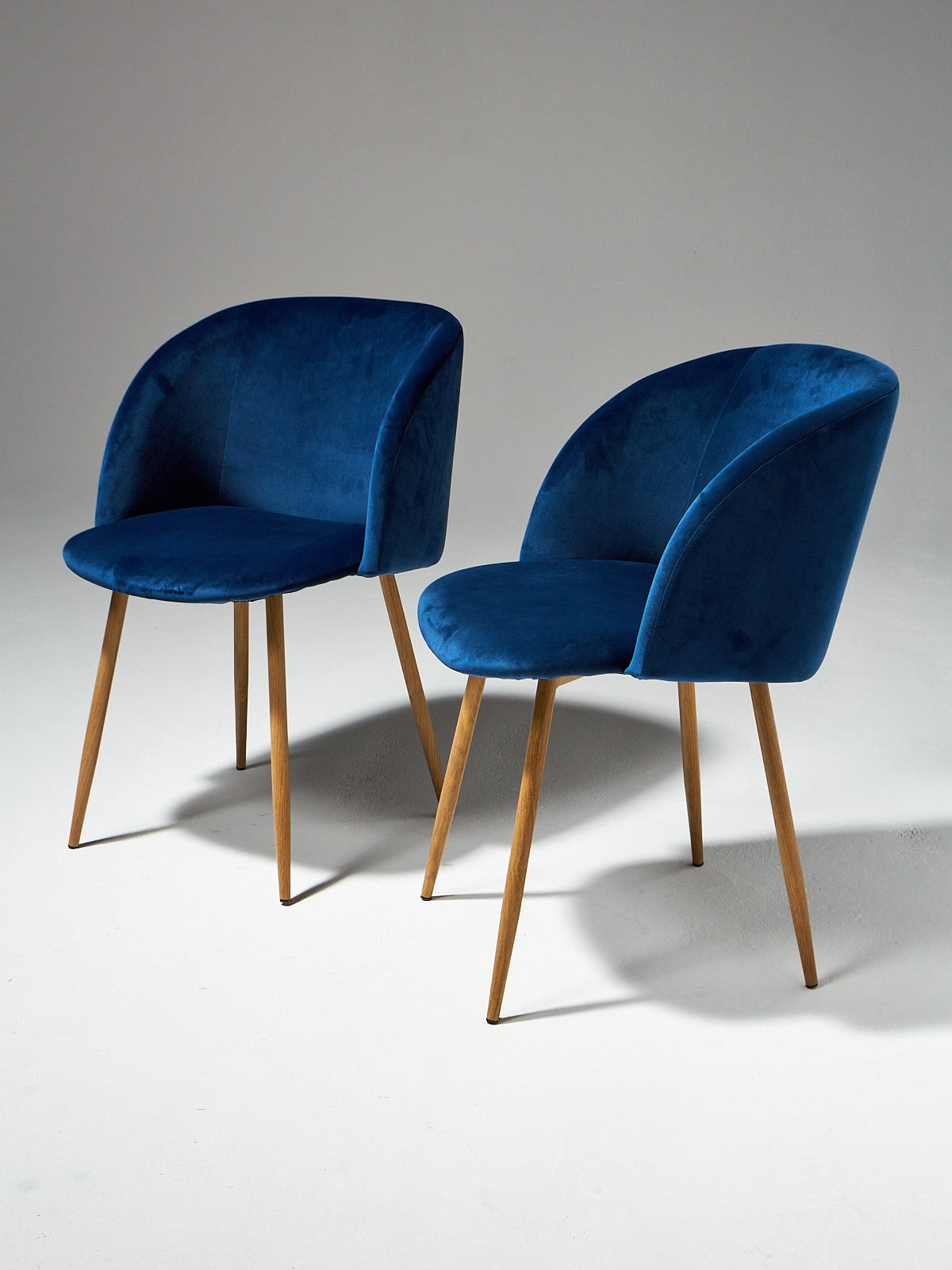 Satellite Chair Ch498 Satellite Blue Velvet Chair Prop Rental Acme Brooklyn