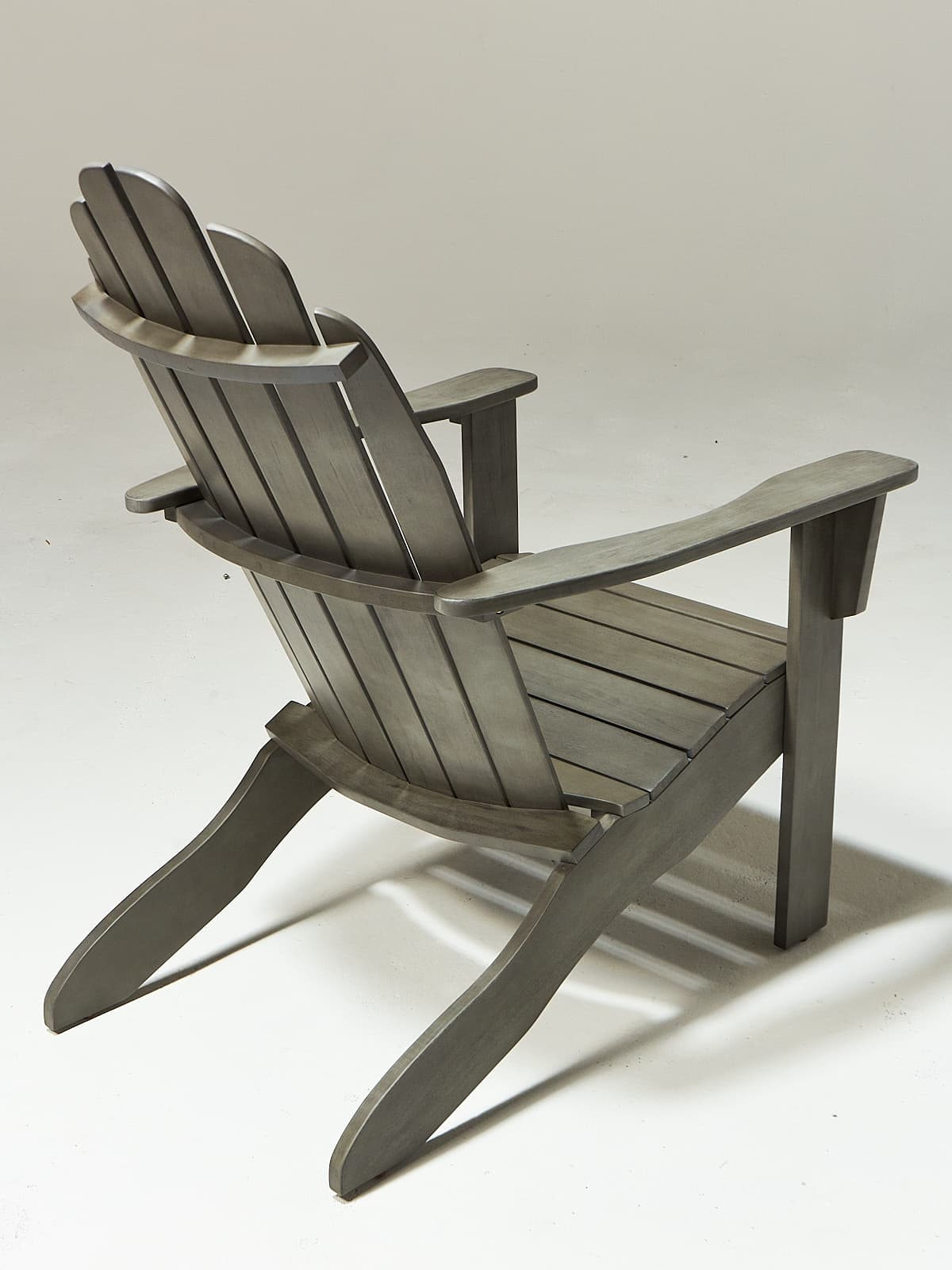 Grey Adirondack Chairs Ch517 Grey Wash Wood Adirondack Chair Prop Rental Acme