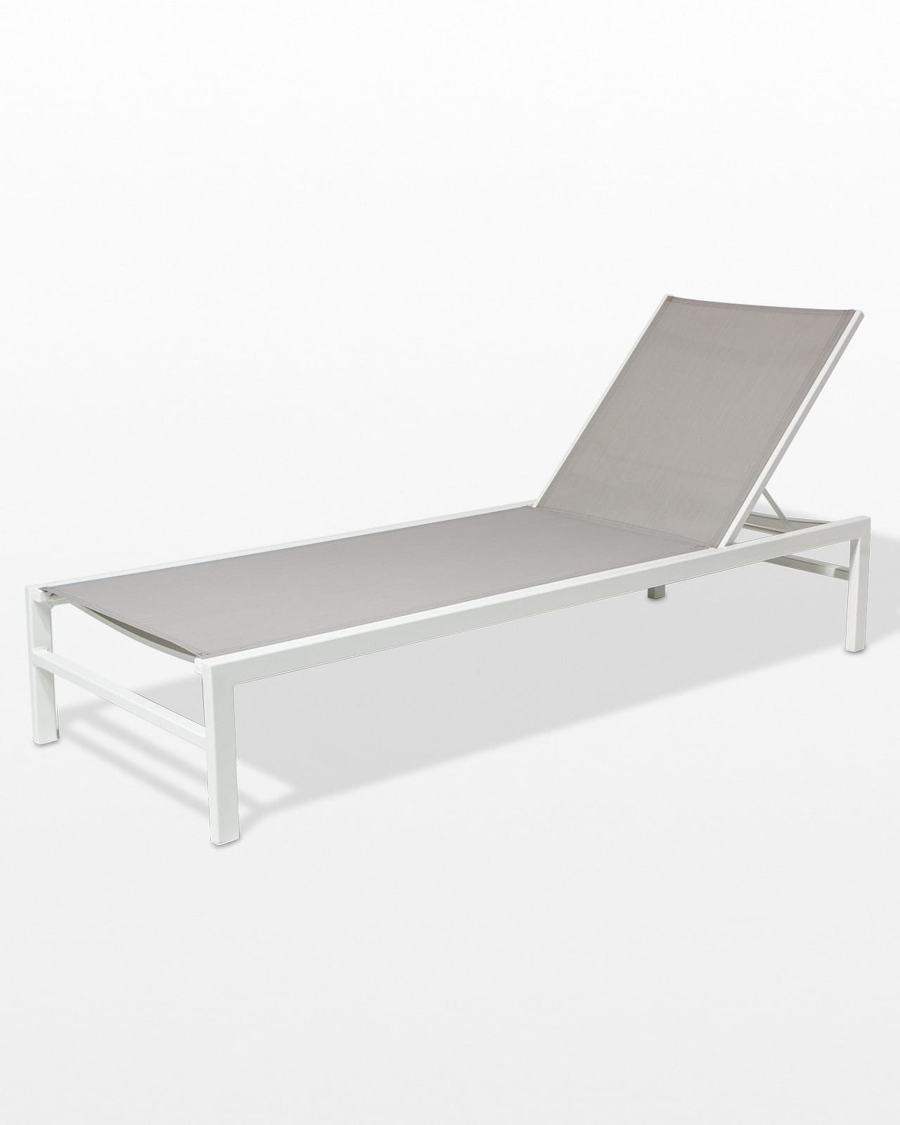 Pool Lounge Chair Ch526 Bella White Frame Pool Lounge Chair Prop Rental Acme Brooklyn