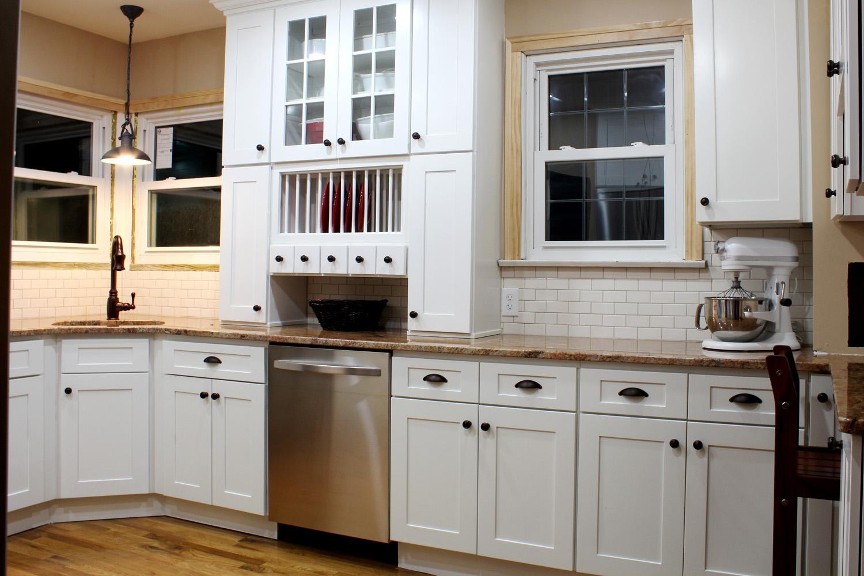shaker kitchen cabinets cherry wood island customer photos acmecabinetdoors