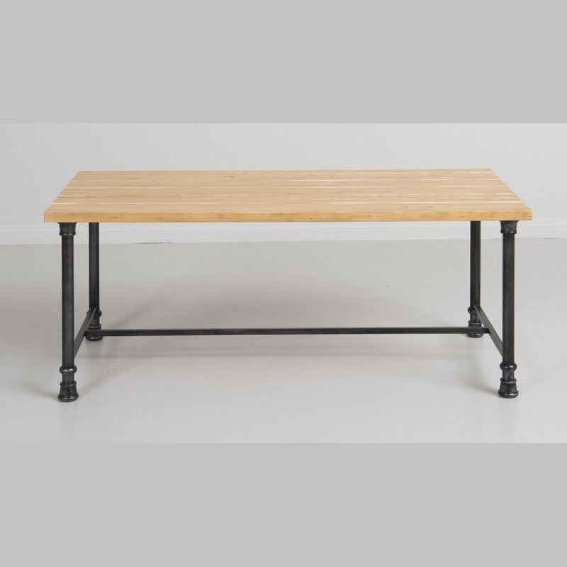 large nesting table distressed pine