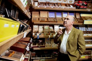 cigar shop with hemp cigars