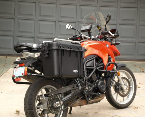 Panniers for BMW