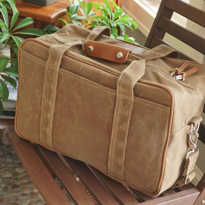 Acmemoto2 waxed canvas luggage and pannier liners