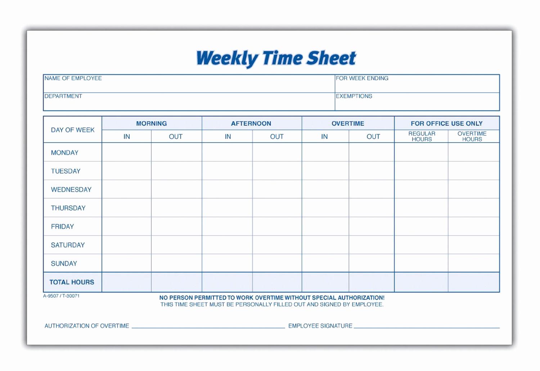 Free Printable Employee Time Sheets