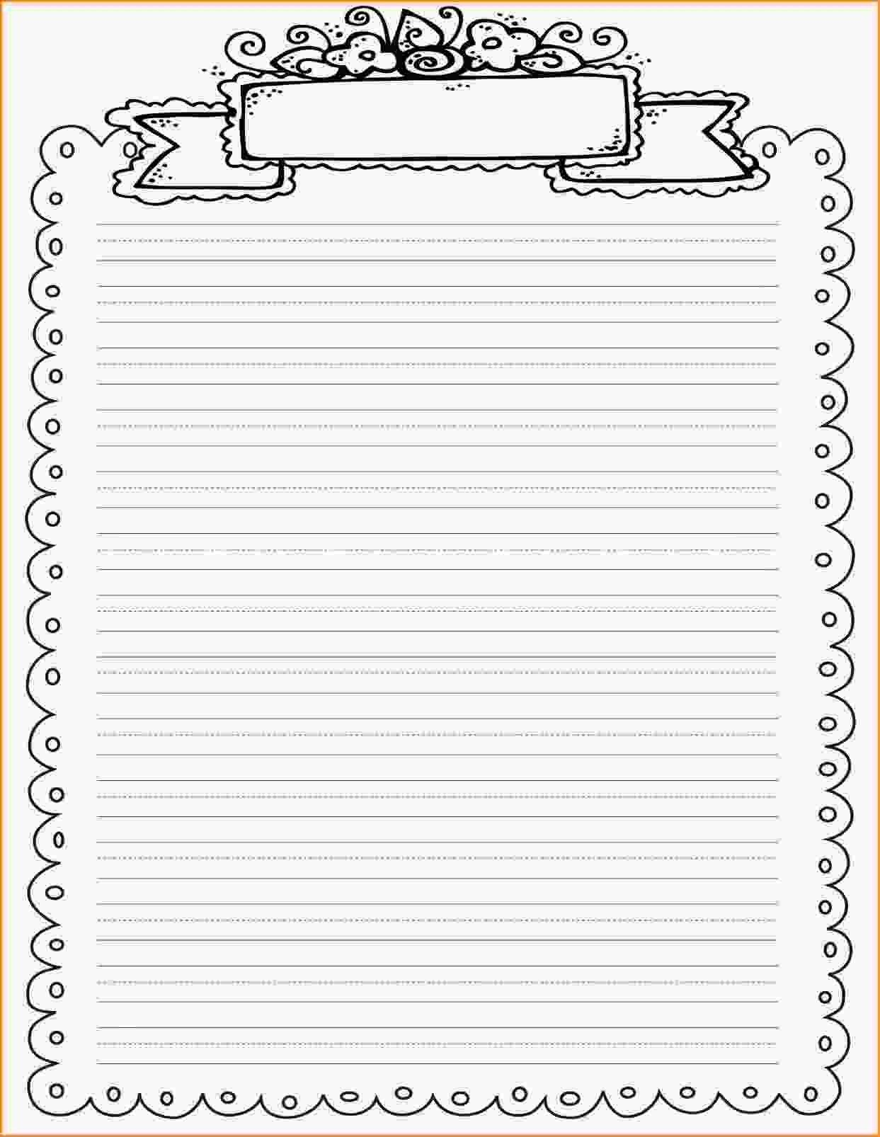 Line Paper Printable