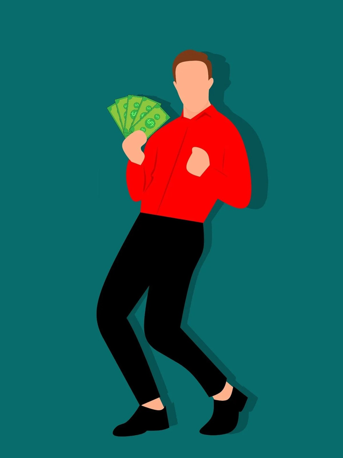 earn money man holding cash-3288382_1920