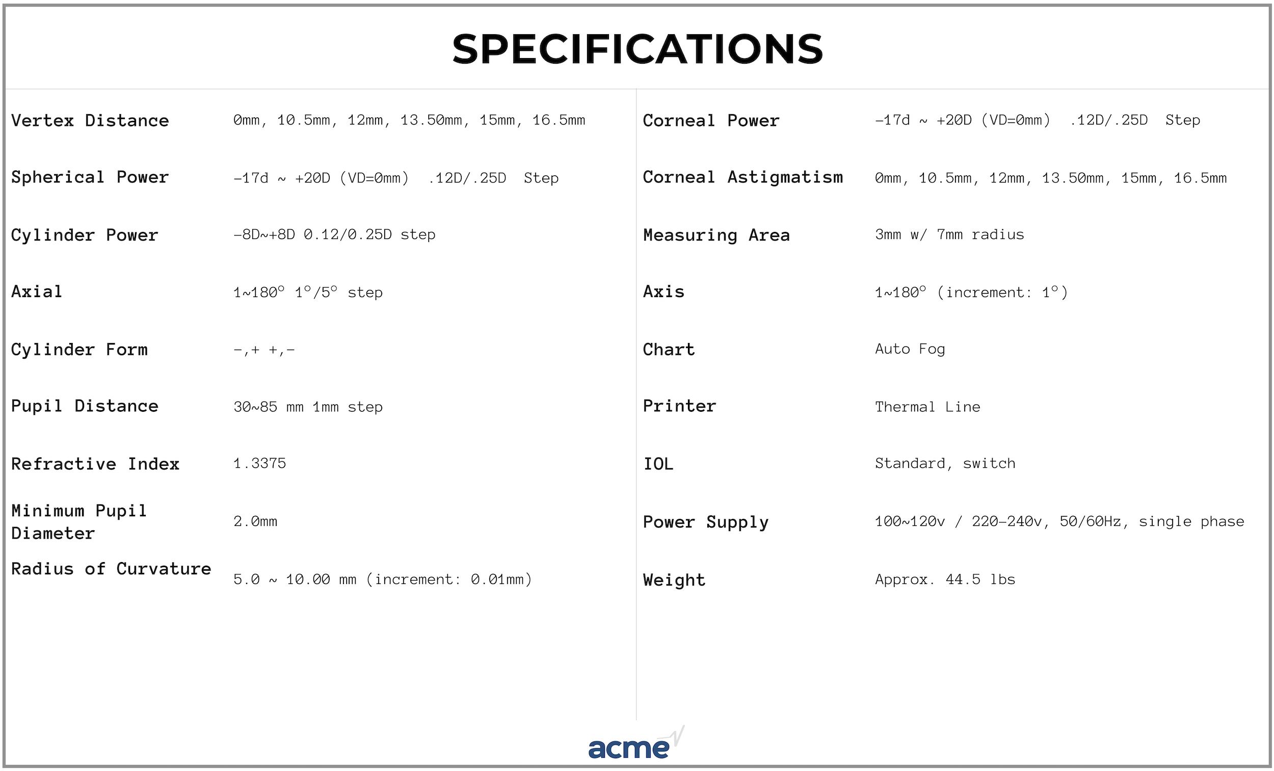 Topcon KR-8000 Autorefractor/Keratometer For SALE