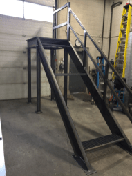 Modular Stairway for Yellowknife NWT