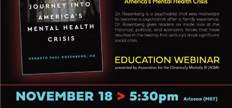 A Conversation With Dr. Kenneth Paul Rosenberg- Author Of Bedlam: An Intimate Journey Into America's Mental Health Crisis