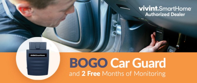 Buy One Camera and Get Car Guard for FREE!
