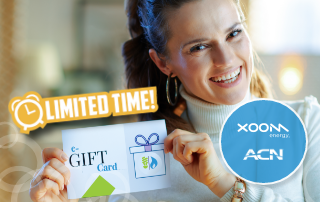 Limited Time! New XOOM Energy Customers in Ontario Can Receive up to $75 in eGift Cards