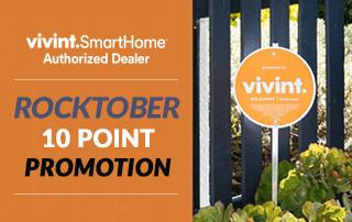 Rocktober with Vivint - Get 10 Points!